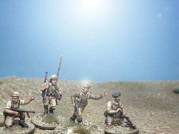 British Platoon Command