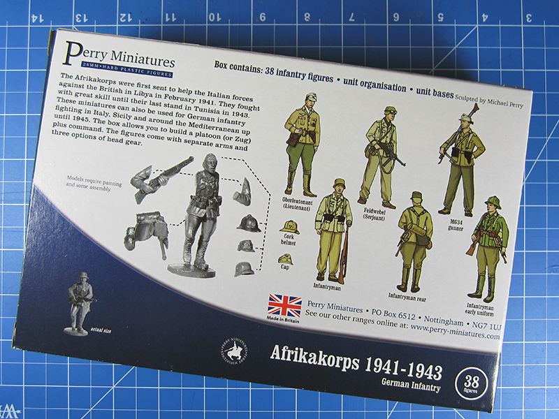 Review: Afrikakorps by Perry Miniatures | At the Mountains